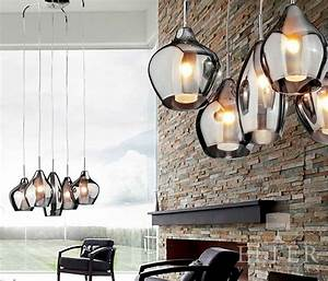 Clear Pendant Lights Gorgeous Five Light Cluster Pendant With Smoked