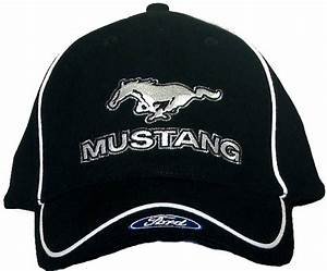 Ford Mustang Hat with Ford Logo - Embroidered Cap - Ford Hats - Caps