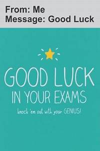 Good Luck Exam Greetings - Android Apps on Google Play