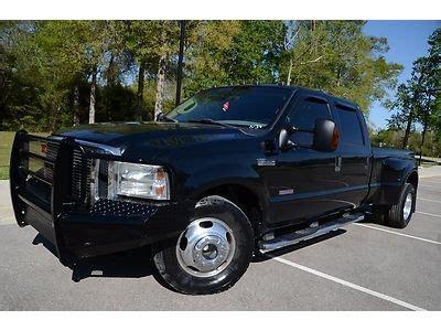 sell  crew cab long bed srw  powerstroke diesel