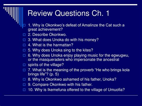 PPT - Review Questions Ch. 1 PowerPoint Presentation - ID ...
