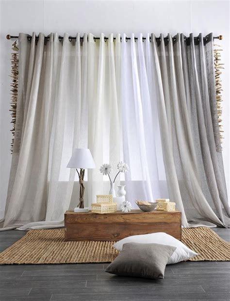 les 25 meilleures id 233 es concernant voilage blanc sur rideau blanc voilage gris et