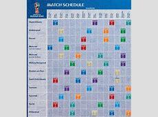 Rusia 2018 FIFA confirma cronograma del próximo Mundial