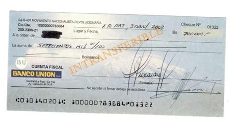 URGENTE: Se confirman los cheques de dinero recibido por ...