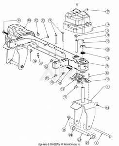 Troy Bilt 17arcbdt011 Mustang Xp Pivot S 46  2017  Parts