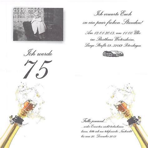 einladung zum 75 geburtstag basteln einladungskarten 75 geburtstag basteln geburtstag einladung kostenlos geburtstag einladung