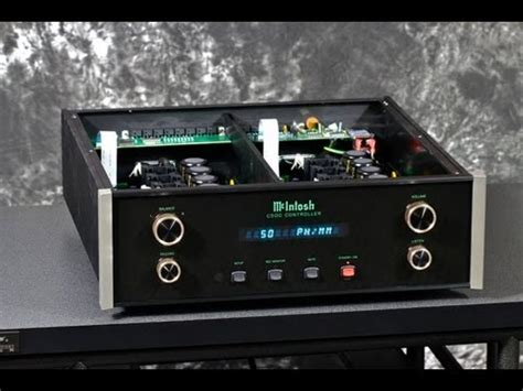 Stereo Design McIntosh C500 Controller in HD - YouTube