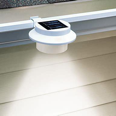 solar gutter lights 3 led white light led solar gutter safety light cis