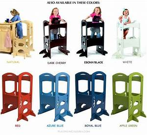 LEARNING TOWER Kids Kitchen Step Stool for emma