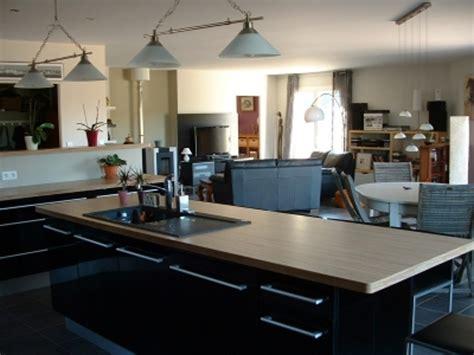 cuisine ouverte avec ilot central cuisine semi ouverte avec bar 9 decoration cuisine