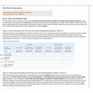 college net price calculators decide if you can afford With net price calculator template