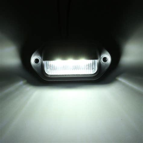License Plate Light by Led License Plate Light Interior Step Courtesy L For