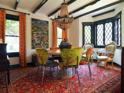 21  Bohemian Dining Room Designs, Decorating Ideas