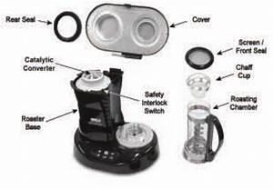 Nesco Pro Series Home Coffee Bean Roaster Cr 1000 1010