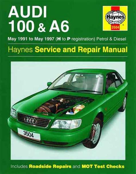 car service manuals pdf 1994 audi 90 on board diagnostic system audi 100 a6 petrol diesel 1991 1997 haynes owners service repair manual 0857337483