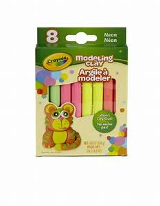 Crayola Modeling Clay 4 8 Ounce Pack Set of 8 Neon