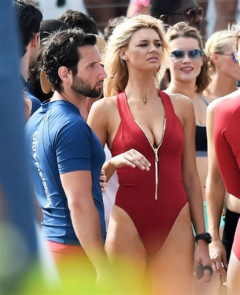 Kelly Rohrbach Shows Off Enviable Body In Iconic Red
