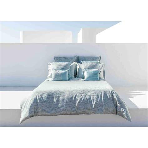 housse couette housse de couette design graphique bleu gris blue mood home concept