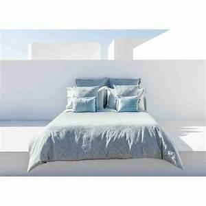 Housse De Couette Dorée : housse de couette design graphique bleu gris blue mood home concept ~ Teatrodelosmanantiales.com Idées de Décoration