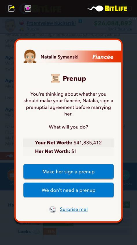 money wants she suspect hmm starting comments bitlifeapp