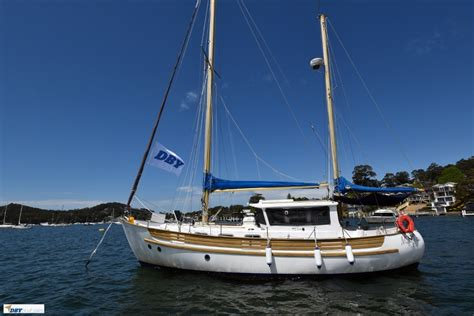 Motor sailer fisher 37 yacht sailing at plymouth, uk. Fisher 37: Sailing Boats | Boats Online for Sale ...