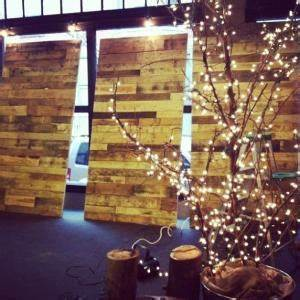 Church Stage Design Pallet Letters