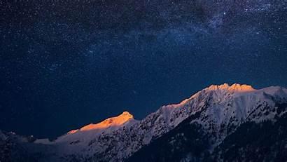 Night Scenery Galaxy Landscape 10wallpaper