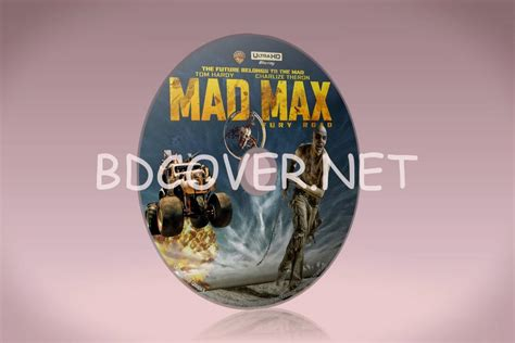 blu covers dvd covers blu labels mad max fury road 4k ultrahd bluray disc label
