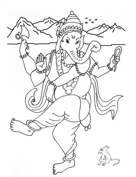 ganesha coloring pages coloring pages part