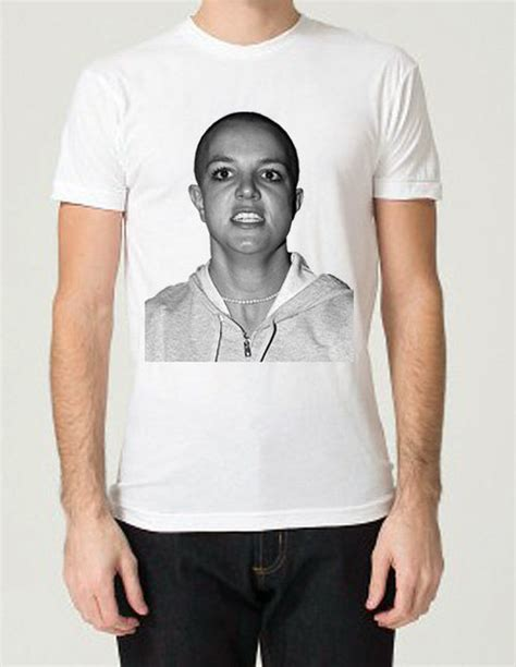 bald britney spears  shirt  tank top  storenvy