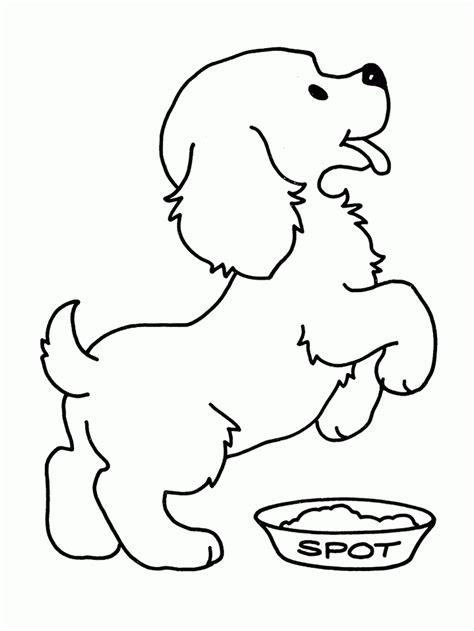Puppy Hond Kleurplaat honden kleurplaten kleurplaat hond overal kleurplaat
