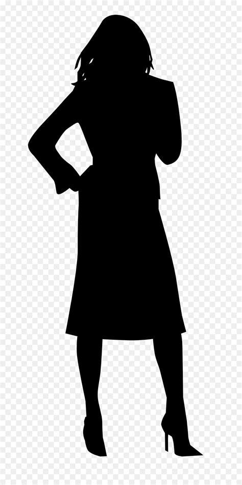 woman silhouette clip art black woman