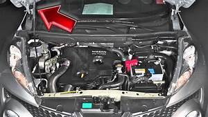 2012 Nissan Juke - Hood Release