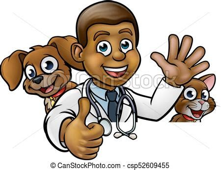 veterinaire caractere dessin anime pointage signe