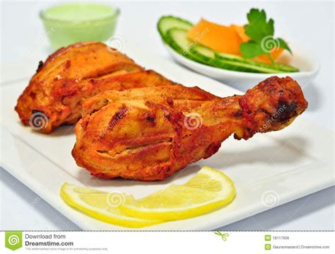 tandoori chicken royalty  stock image image
