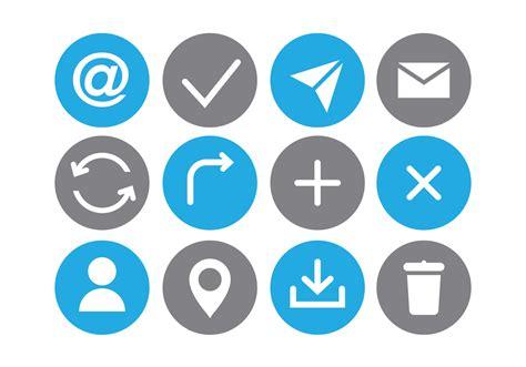 communication icon free vector stock