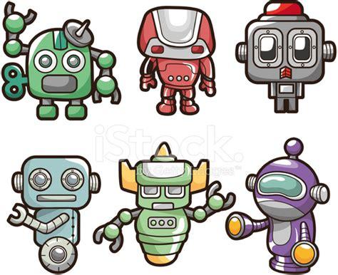 Cartoon Robot Icon Stock Vector