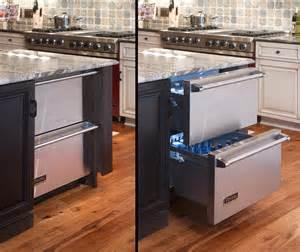 modern refrigerators for minimalist kitchens - Kitchen Island With Refrigerator