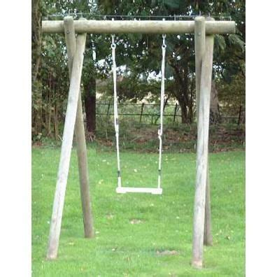 Langley Swing by Langley Single Swing Frame From Our Children S Wooden
