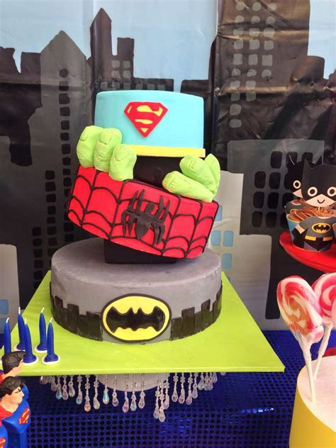 superhero birthday party ideas photo    catch