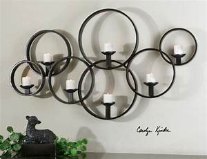 sconce wall sconces glass candle holders with free tea With candle wall decor