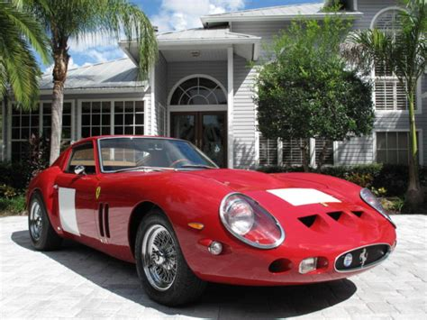 Gto 250 For Sale by 1962 250 Gto Berlinetta Outstanding Recreation