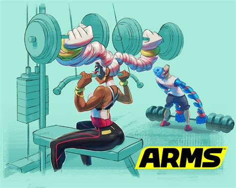 New Arms Art For Twintelle And Spring Man Nintendo