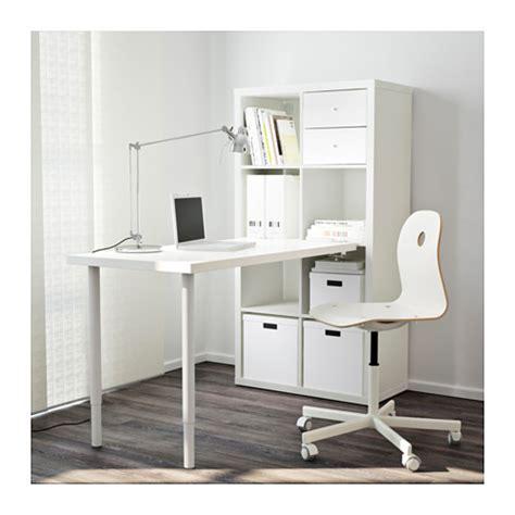 ikea table bureau kallax desk combination white 77x147 cm ikea
