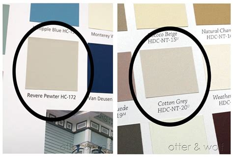 behr cotton grey paint similar to benjamin moore revere