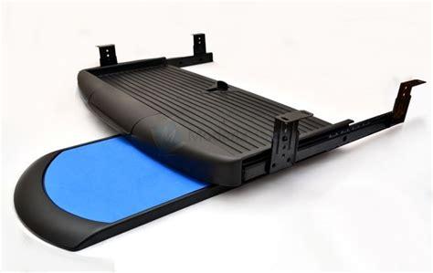 tiroir clavier sous bureau desk computer keyboard tray with mouse pad shelf