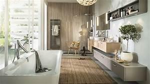 Ambiance Salle De Bain : meubles de salle de bain sur mesure design moderne bois ~ Melissatoandfro.com Idées de Décoration
