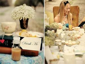 Alice In Wonderland Bridal Shower Ideas