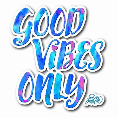 Stickers Vibes Sticker Quotes Decal Marvin Laptop