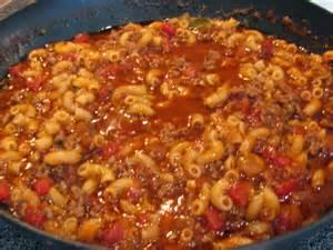Hamburger Goulash Recipe Ground Beef
